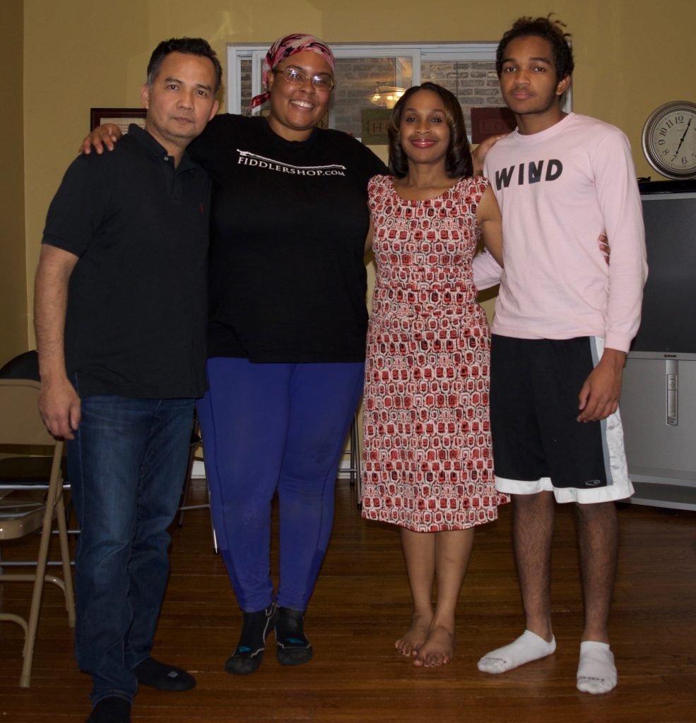 Calderon Family in Chicago